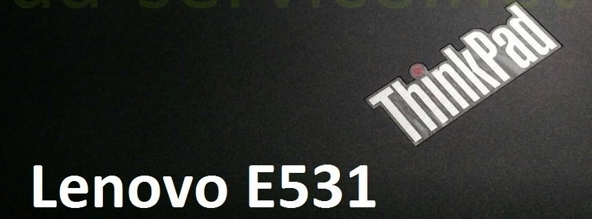 Нижній корпус для Lenovo ThinkPad E531, новий
