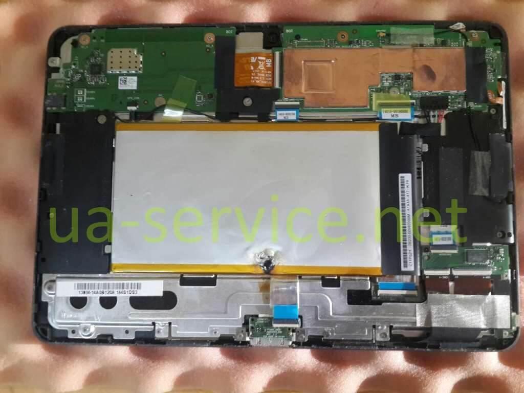 планшет з пошкодженнями