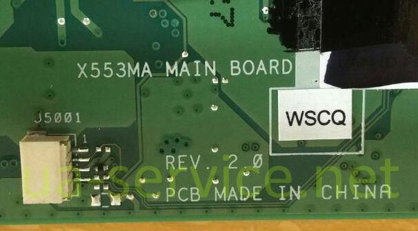 Материнська плата Asus X553MA партномер