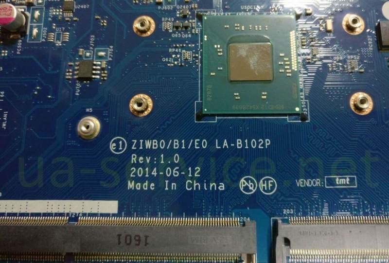 парт-номер плати Lenovo B50-30