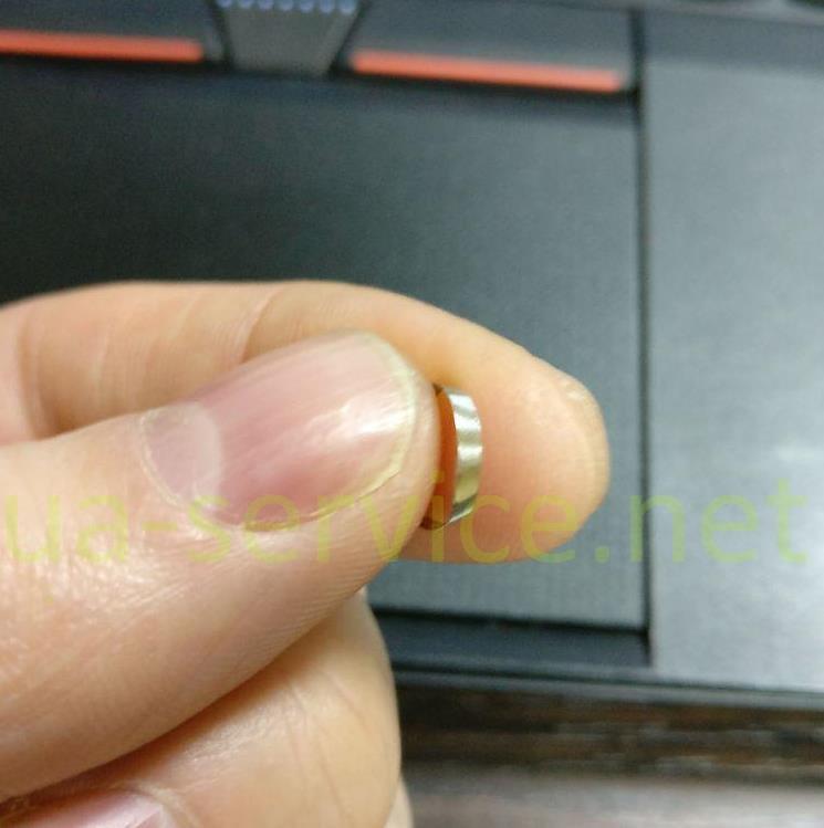 металеве кільце від ручки