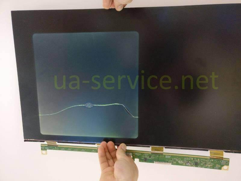 пошкоджений екран моноблока