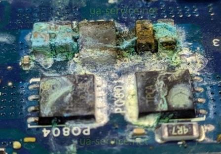 залиті транзистори