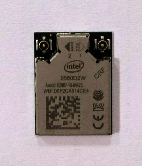 несправний модуль Intel