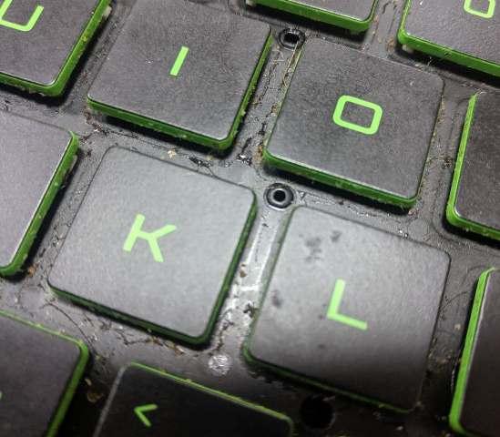 залита клавіатура