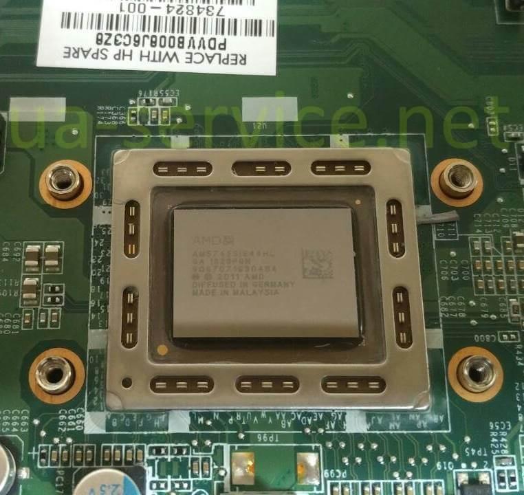 Процесор AMD APU with Radeon HD Graphics
