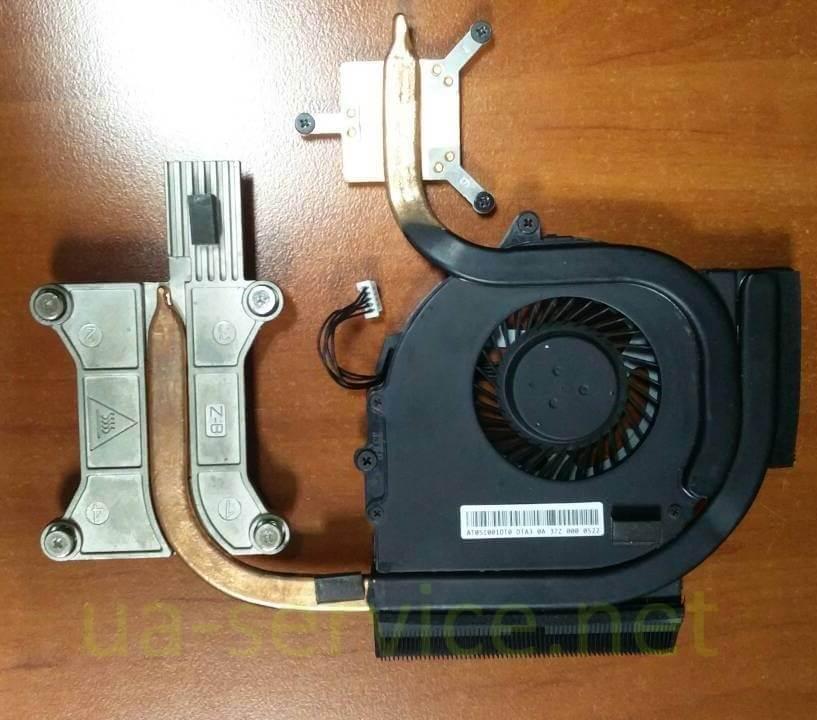 Система охолодження для Lenovo E531,інша сторона
