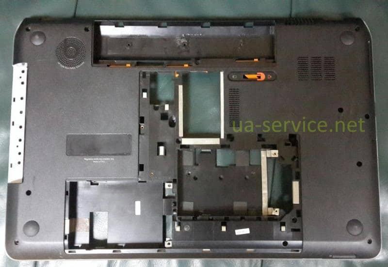 Нижній корпус HP DV7-7000. вигляд знизу